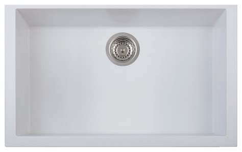 white undermount kitchen sinks single bowl 30 quot undermount single bowl granite composite kitchen sink