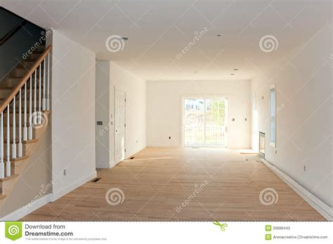 empty unfinished home interior stock image image