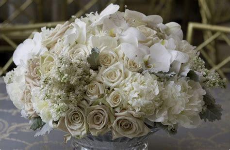 white centerpiece gloria s wedding reception black white