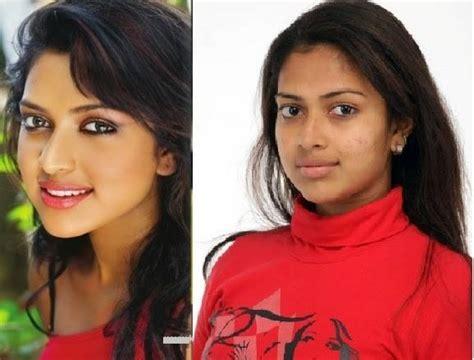karuthamuthu actress without makeup malayalam serial actress without makeup saubhaya makeup