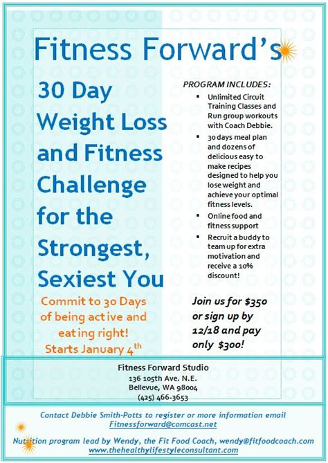 weight loss challenge flyer template 301 moved permanently