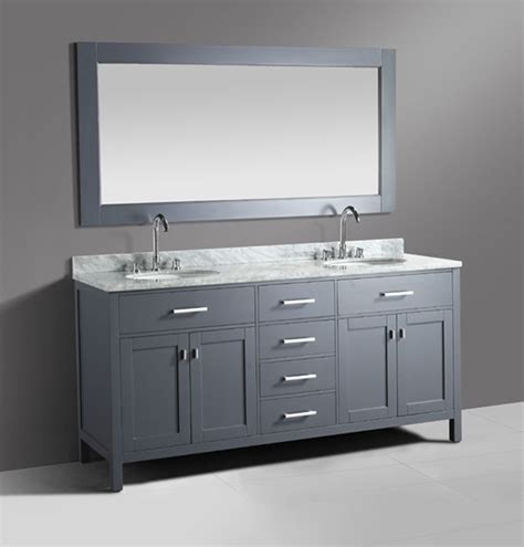 design element bathroom vanities design element 72 inch modern bathroom