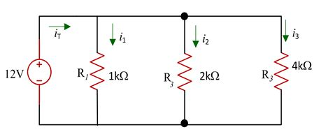 three resistors connected in parallel the individual voltages labeled basic laws in series and parallel resistor voltage and current division fundamental of