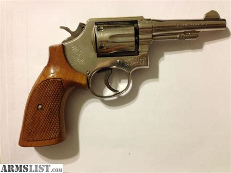 armslist for sale smith and wesson s w counter stool armslist for sale smith and wesson s w model 10 nickel 38sp