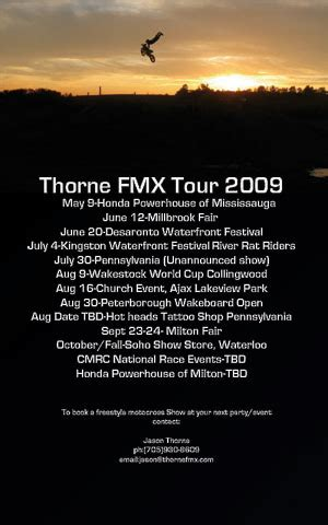 freestyle motocross schedule jason thorne fmx freestyle motocross website jason