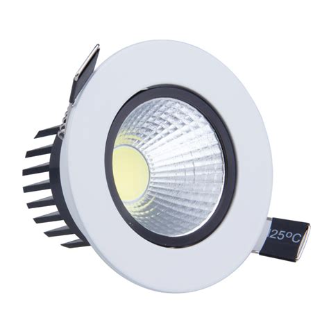 Aliexpress Com Buy 9w Led Down Light Cob Dimmable Led Led Ceiling Recessed Lights