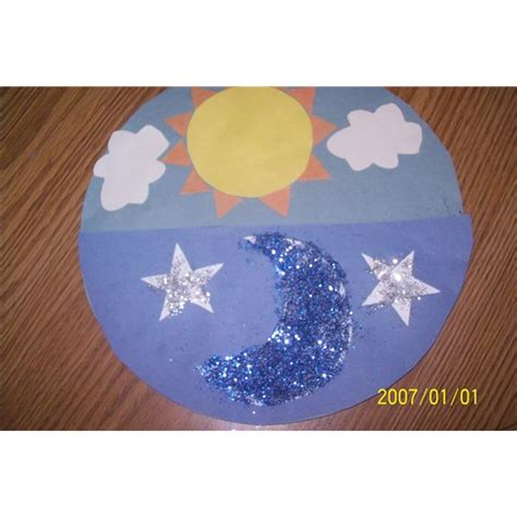 sun and moon crafts for a mosaic preschool sun moon and craft and song