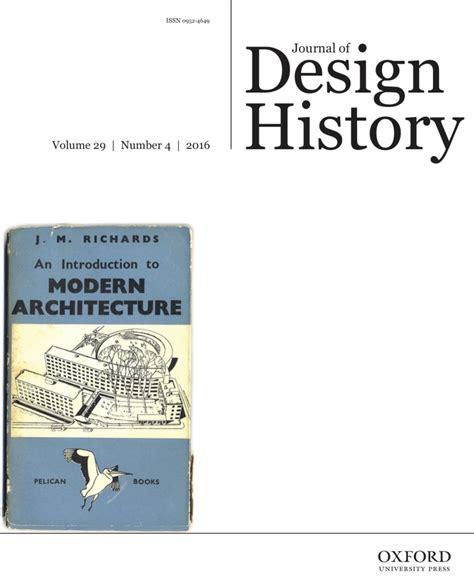 Design Issues Journal Online | journal of design history publications design history