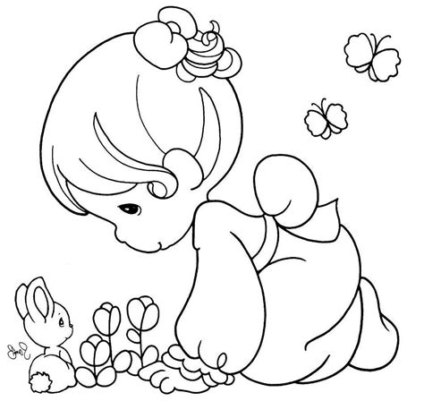 Precious Moments Animal Coloring Pages Printable Kids Precious Moments Animal Coloring Pages