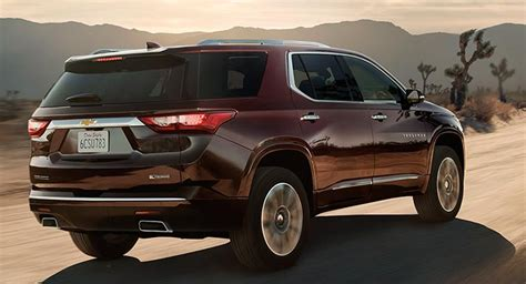 2018 traverse release 2018 chevrolet traverse release date redesign review