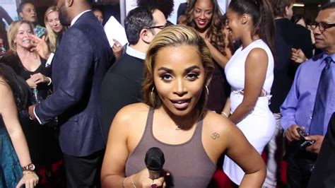 lauren london flirts w trey songz amp calls rihanna a grown