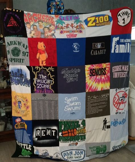 Quilts Out Of T Shirts by Custom Quilts Made Out Of T Shirts For 45 On Livingsocial