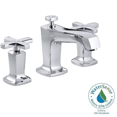 bathroom water faucets kohler margaux 8 in widespread 2 handle low arc water