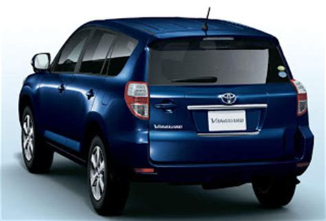 Toyota Seven Seater Suv Toyota Launches 7 Seater Vanguard Suv In Japan