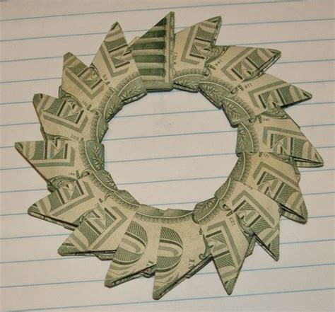 money origami wreath 209 best images about sellable gift ideas on