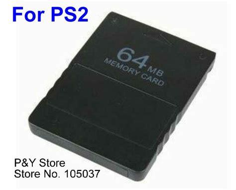 Memory Card Mc Ps2 64mb 100 Original free shipping new 64mb 64 mb memory card for ps2 playstation 2 ps 2 on aliexpress alibaba