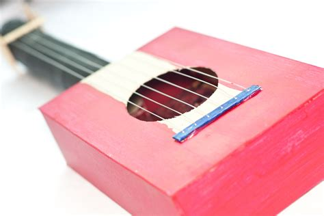 How To Make A Paper Guitar - craft boxes to make images