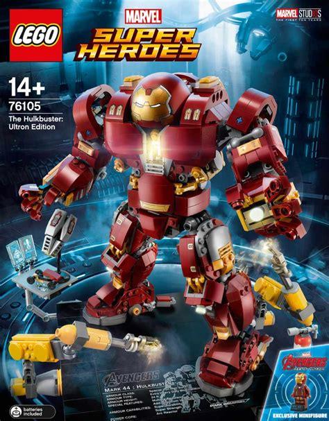 Original Kotobukiya Vs Hulkbuster Set lego marvel heroes the hulkbuster ultron edition 76105 vorgestellt zusammengebaut