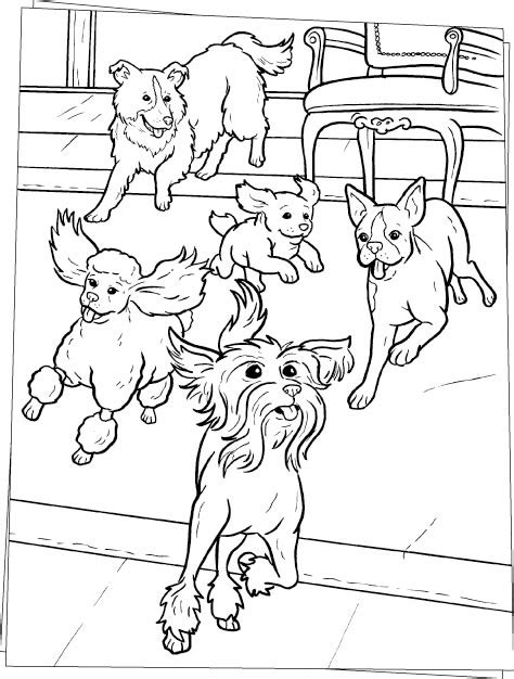 dog running coloring page running dogs coloring pages hellokids com
