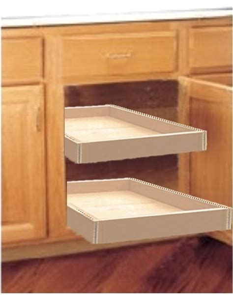 Sliding Drawers For Kitchen Cabinets by Sliding Shelves For Kitchen Cabinets Wood Kitchen