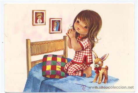 imagenes tiernas rezando postal constanza rezando a la virgen comprar