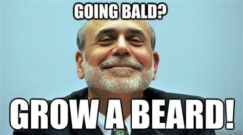 Baldness Meme - bald bernanke memes quickmeme