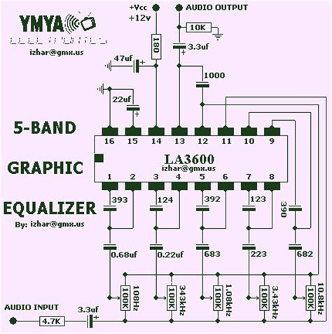 integrated circuit equalizer gt audio gt equalizers gt graphic equalizer circuit l8115 next gr