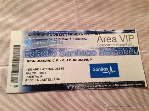 entradas valencia real madrid 2014 entrada ticket vip real madrid atletico madrid comprar
