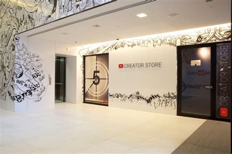 store layout youtube london is getting the first youtube store