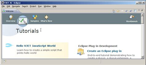 tutorial javascript in eclipse vjet vjet javascript ide installation guide eclipsepedia