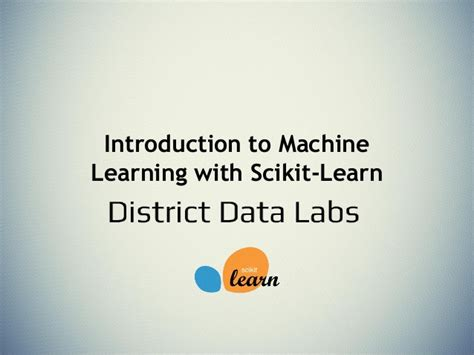 machine learning for absolute beginners a plain introduction introduction to machine learning with scikit learn