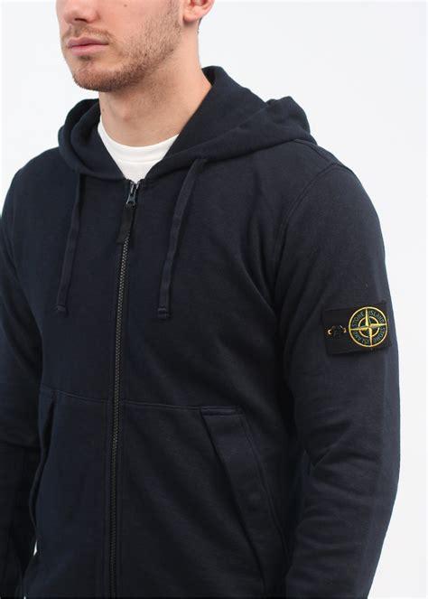Jacket Hoodie Zipper Navy island zip hoody navy