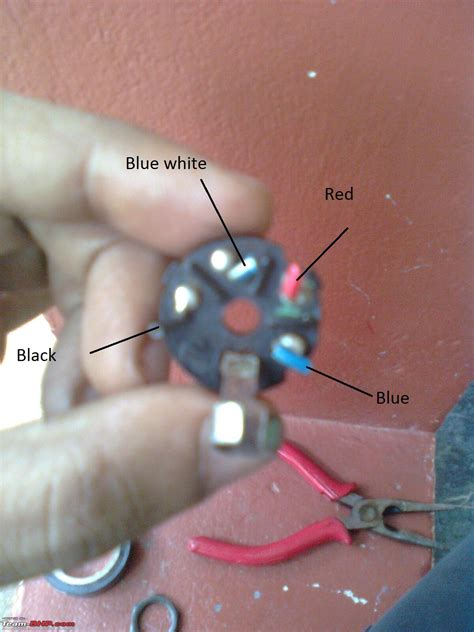 diy royal enfield bullet ignition key assembly cleaning replacing team bhp