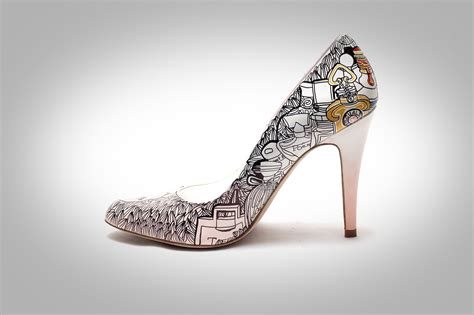 painted shoes personalized style 15 fabulously chic painted shoes