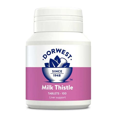 milk for dogs buy milk thistle tablets for dogs and cats dorwest uk