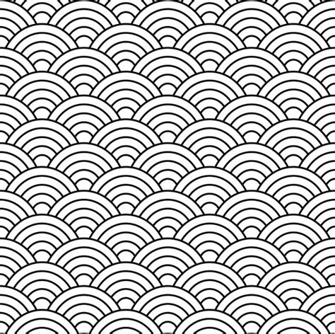 pattern vector ai seamless fish scale pattern vector free vector in adobe
