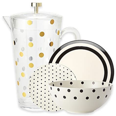 kate spade dinnerware kate spade new york raise a glass melamine dinnerware and acrylic drinkware www