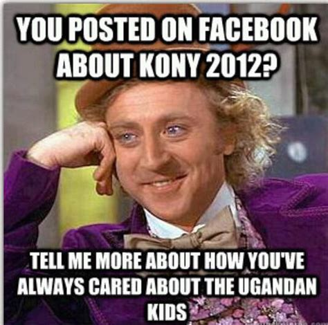 Kony 2012 Meme - kony 2012 an anthropological perspective to be continued