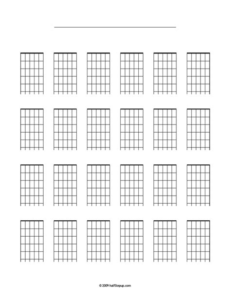 chord block diagram blank guitar chord diagrams blank free engine image for