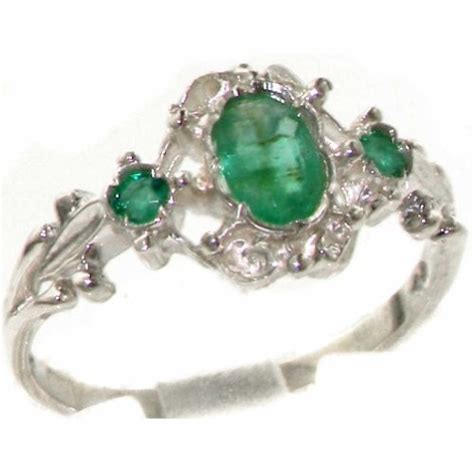 28 superb vintage emerald ring eternity jewelry
