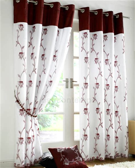 organza voile curtains rose organza lined voile panel eyelet ring top ready made