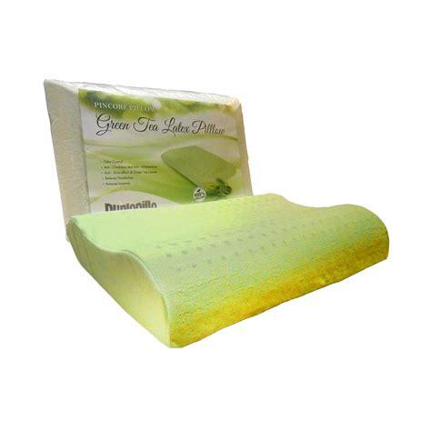 Green Tea Kualitas jual dunlopillo ergo green tea pillow harga