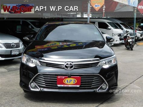 2015 Toyota Camry 2 5 G At toyota camry 2015 g 2 5 in กร งเทพและปร มณฑล automatic