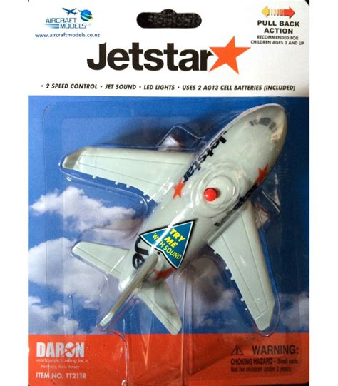 jetstar pullback toy aircraft models   zealands finest aircraft model collection