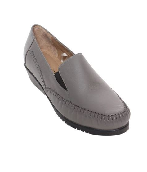 comfort cloud shoes cloud comfort elegant grey formal shoes price in india