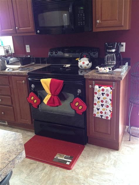 mickey mouse kitchen appliances mickey mouse kitchen mickey mouse bed bath beyond pinterest yellow towels stove and
