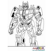 Dessin De Coloriage Transformers &224 Imprimer  CP26467