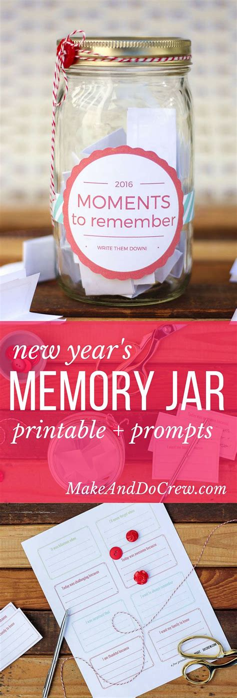 printable memory jar labels how to make a memory jar free printable label