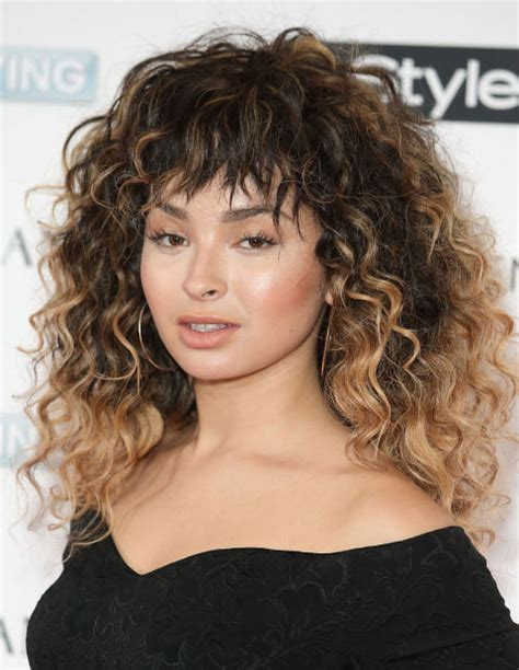 curly face framed hairstyles all the fringe hairstyles from full to face framing to