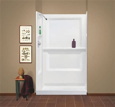 mustee 74832 durawall174 fiberglass shower wall